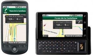 Google - Aplicación GPS para moviles