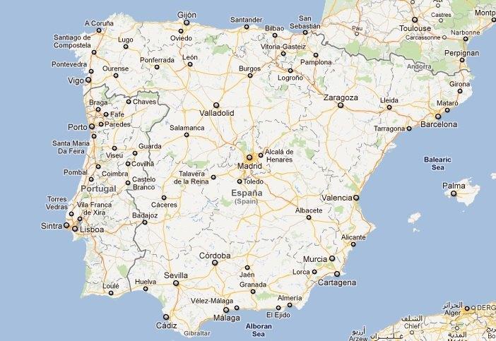 mapa de portugal google maps Creación y diseño de páginas web, diseño gráfico y posicionamiento  mapa de portugal google maps